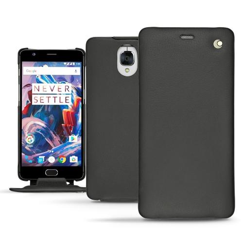 가죽 커버 OnePlus 3 - Noir ( Nappa - Black )