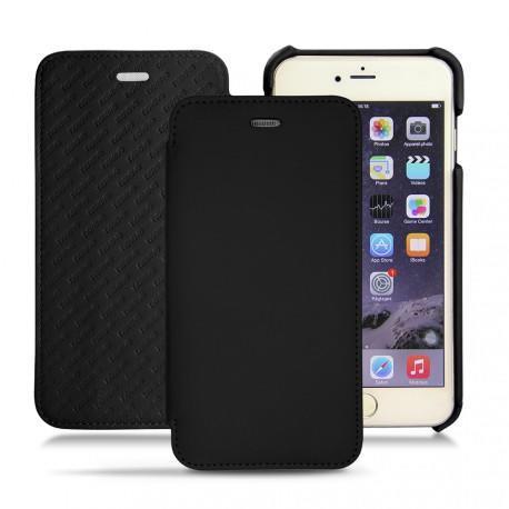 Housse cuir Apple iPhone 6S Plus - Noir PU