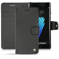 Housse cuir Samsung Galaxy Note 7 - Noir ( Nappa - Black )