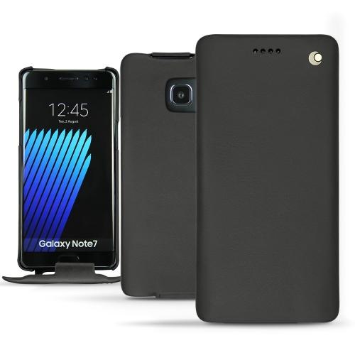 Funda de piel Samsung Galaxy Note 7 - Noir ( Nappa - Black )