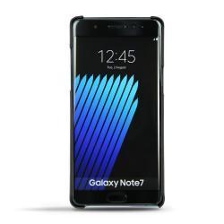 Coque cuir Samsung Galaxy Note 7 - Noir ( Nappa - Black )