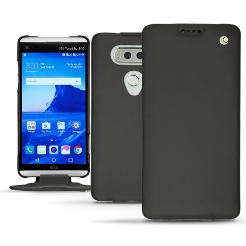 硬质真皮保护套 LG V20 - Noir ( Nappa - Black )