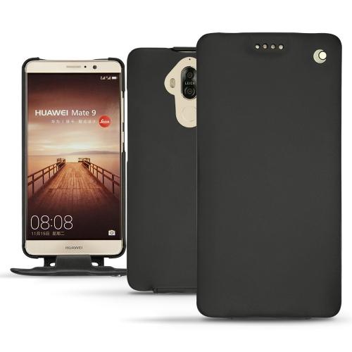 Huawei Mate 9 leather case - Noir ( Nappa - Black )