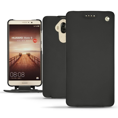 Lederschutzhülle Huawei Mate 9 - Noir ( Nappa - Black )