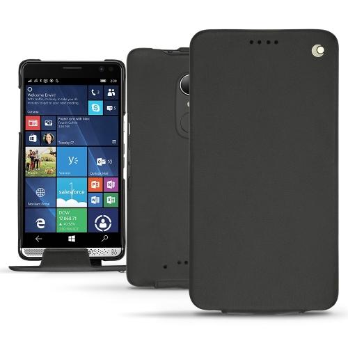 2747c9a71b9aab HP Elite x3 leather case - Noir PU