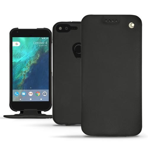 가죽 커버 Google Pixel XL - Noir ( Nappa - Black )
