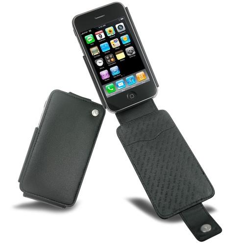 Housse cuir Apple iPhone 3G  - Noir ( Nappa - Black )