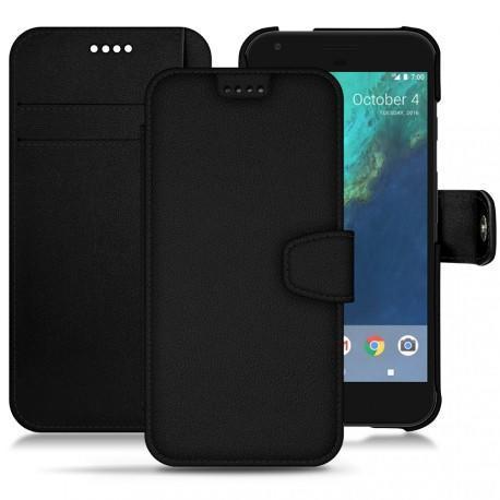 Housse cuir Google Pixel XL - Noir PU