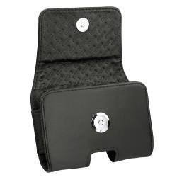 Etui cuir universel horizontal pour telephones - Petit
