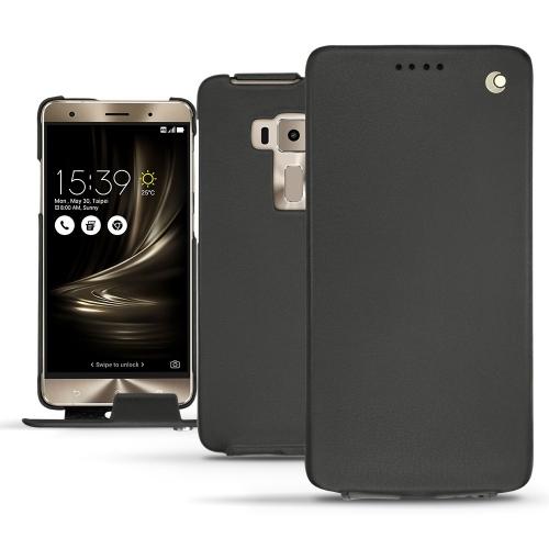 가죽 커버 Asus Zenfone 3 Deluxe  5.7 ZS570KL - Noir ( Nappa - Black )