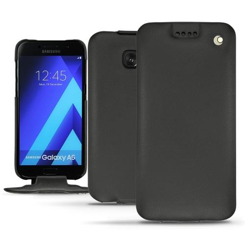 Housse cuir Samsung Galaxy A5 (2017) - Noir ( Nappa - Black )