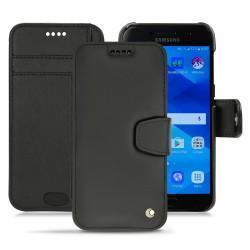 Housse cuir Samsung Galaxy A3 (2017) - Noir ( Nappa - Black )