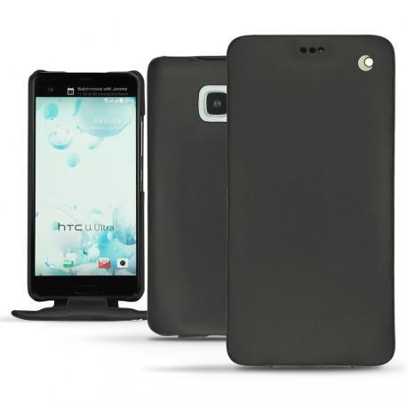 Housse cuir HTC U Ultra - Noir ( Nappa - Black )