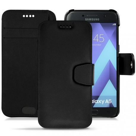 Housse cuir Samsung Galaxy A5 (2017) - Noir PU