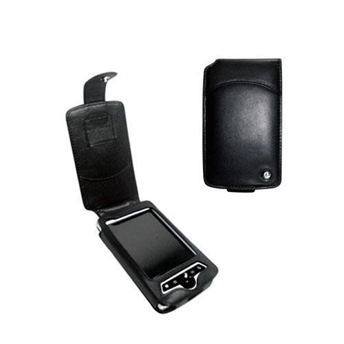 Etui cuir HP iPAQ series rz1700  - Noir ( Nappa - Black )