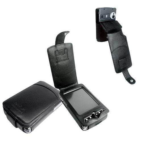 Etui cuir HP iPAQ series rx3700-rx3400  - Noir ( Nappa - Black )