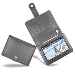 Housse cuir Packard Bell Compasseo 800  - Noir ( Nappa - Black )