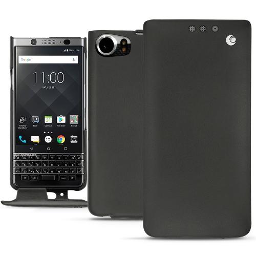 Housse cuir Blackberry Keyone - Noir ( Nappa - Black )