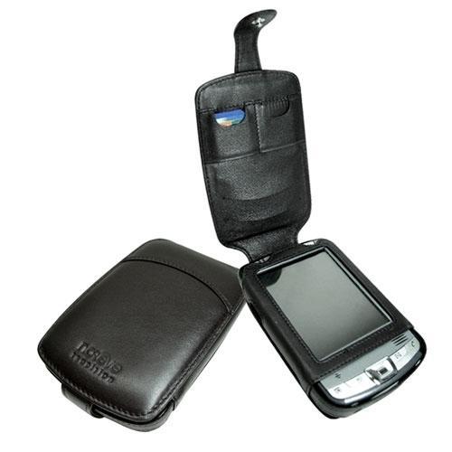 Etui cuir HP iPAQ series hx2000  - Noir ( Nappa - Black )