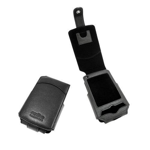 Etui cuir HP iPAQ serie rx3100  - Noir ( Nappa - Black )