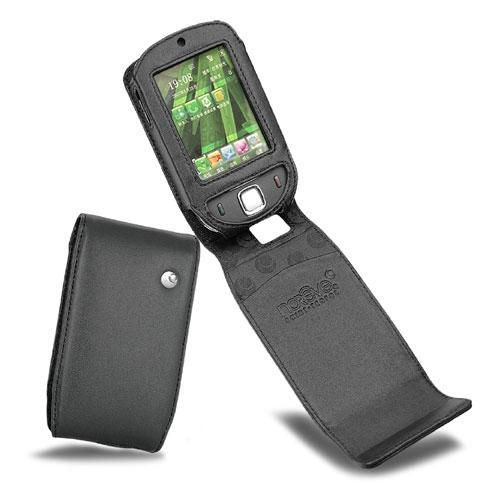 硬质真皮保护套 HTC P3450 - HTC Touch - Dopod S1 - Noir ( Nappa - Black )