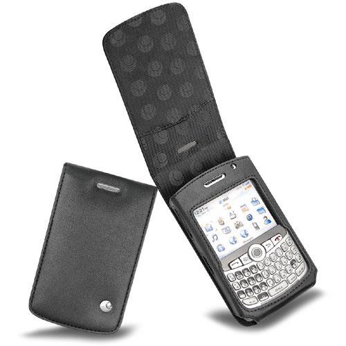 Housse cuir BlackBerry Curve 8300  - Noir ( Nappa - Black )