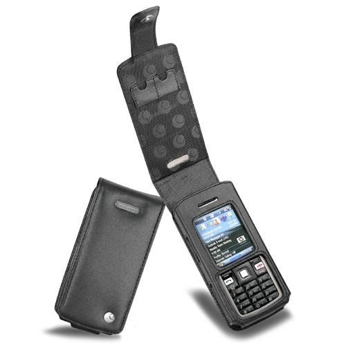 Housse cuir HP iPAQ 510 Voice Messenger  - Noir ( Nappa - Black )