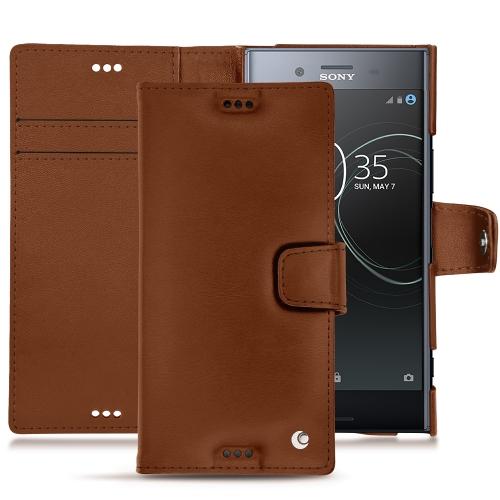innovative design 212fa 019ca Sony Xperia XZ Premium leather case