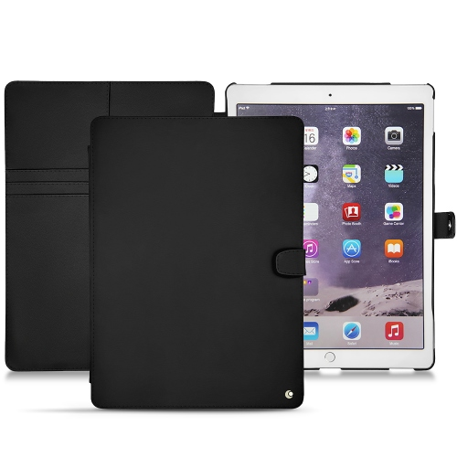 apple ipad pro 12 9 2017 leather case noir pu