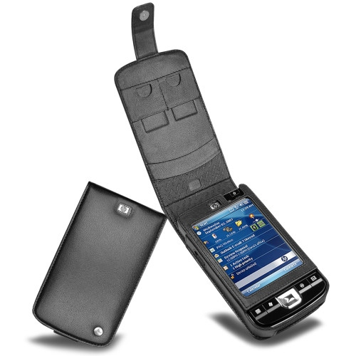 Housse cuir HP iPAQ 210  - Noir ( Nappa - Black )