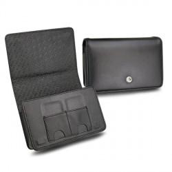 Etui cuir universel horizontal pour appareils photo  - Noir ( Nappa - Black )