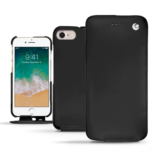 가죽 커버 Apple iPhone 7 - Noir ( Nappa - Black )