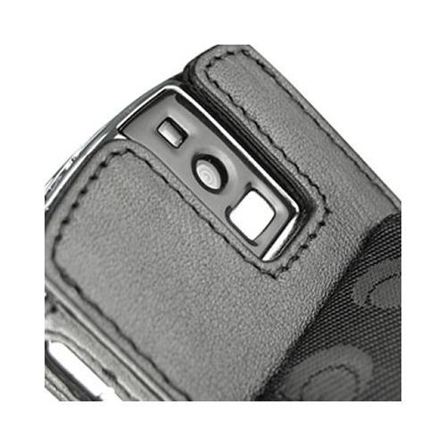 Housse cuir BlackBerry Pearl serie 8100
