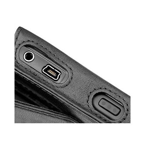 Housse cuir BlackBerry Curve 8300