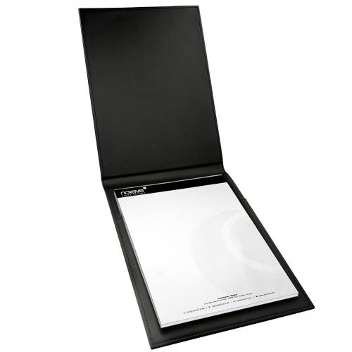 Porte Bloc Note - A4 - Griffe 1 - Noir ( Nappa - Black )
