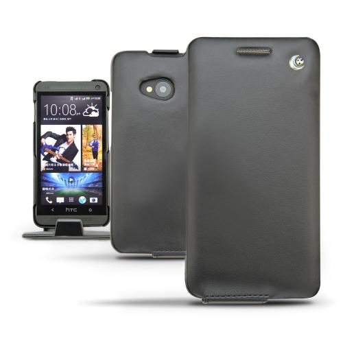 Housse cuir HTC One Dual Sim  - Noir ( Nappa - Black )