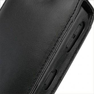 Blackberry curve 8350i leather case for Housse blackberry curve