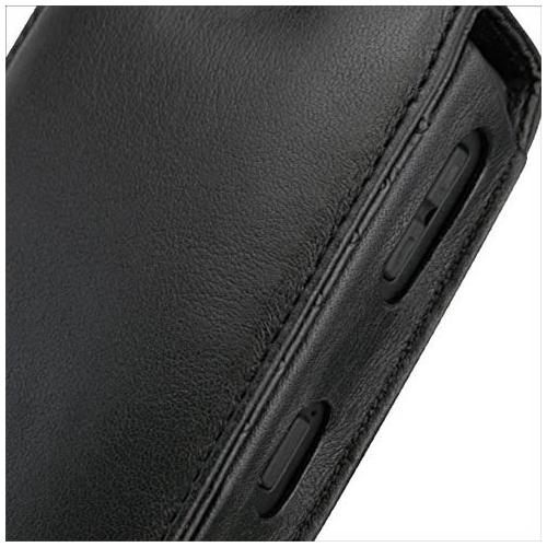 Housse cuir BlackBerry Curve 8350i