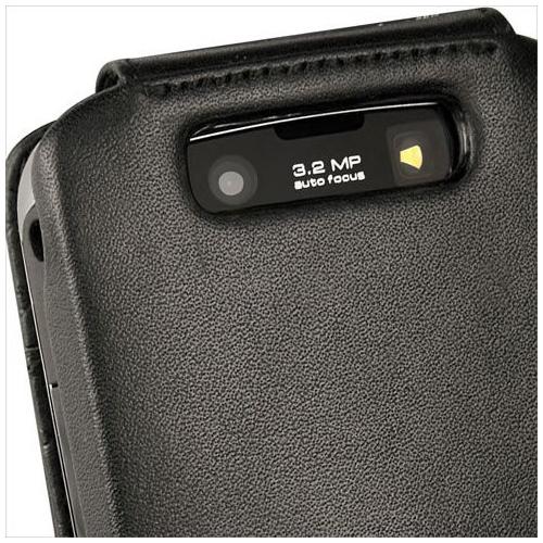 Housse cuir BlackBerry Storm2 9550