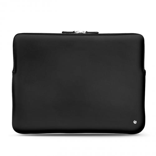 """Housse cuir pour Macbook Pro 15"""" - Griffe 3 - Noir ( Nappa - Black )"""