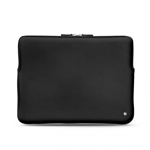 """Housse cuir pour Macbook 12"""" - Griffe 3 - Noir ( Nappa - Black )"""