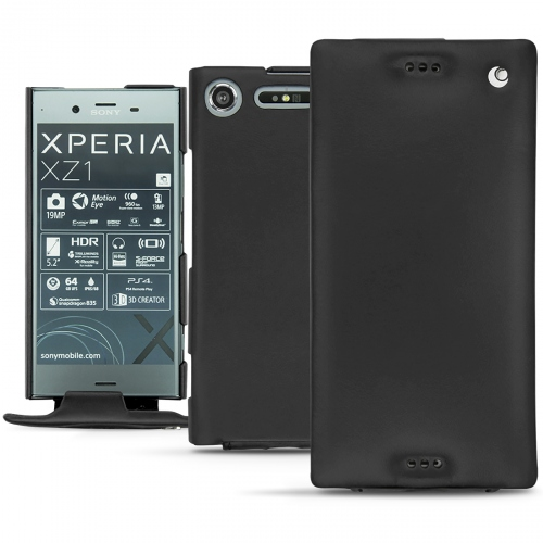 buy popular 92cac 3ed83 Sony Xperia XZ1 leather case