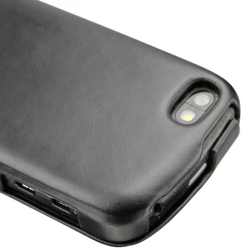 Housse cuir BlackBerry Q10