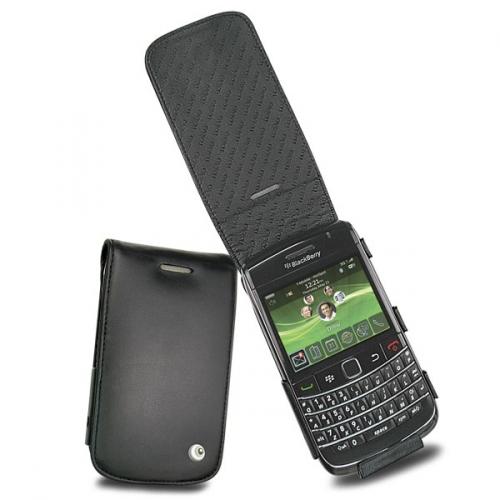 Housse cuir BlackBerry Bold 9700 - 9780  - Noir ( Nappa - Black )