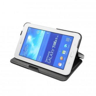 samsung sm t110 galaxy tab 3 lite 7 0 leather case. Black Bedroom Furniture Sets. Home Design Ideas