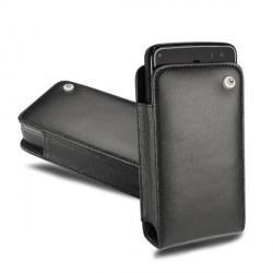Housse cuir Nokia N900 - Noir ( Nappa - Black )