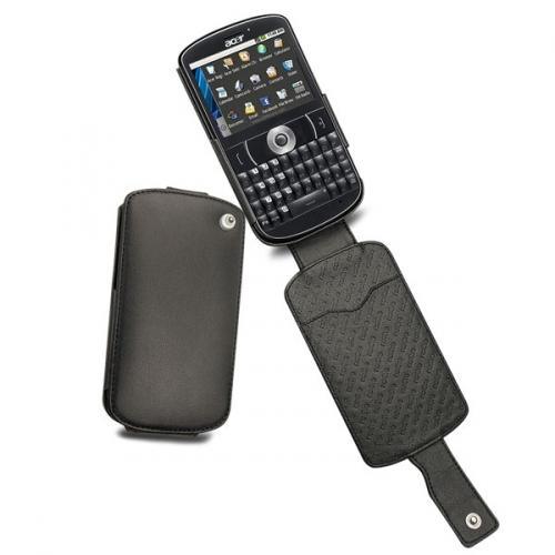 Housse cuir Acer beTouch E130  - Noir ( Nappa - Black )