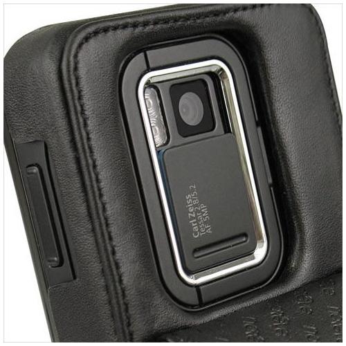 Housse cuir Nokia N900