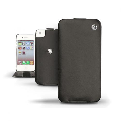 Housse cuir Apple iPhone 4  - Noir ( Nappa - Black )