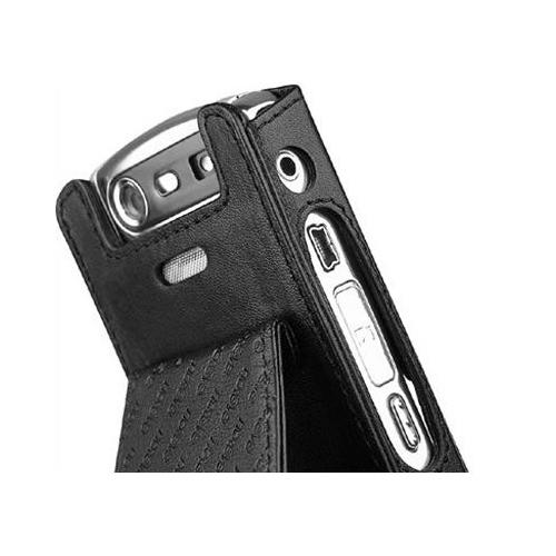 Housse cuir BlackBerry Pearl 8110 - 8120 - 8130